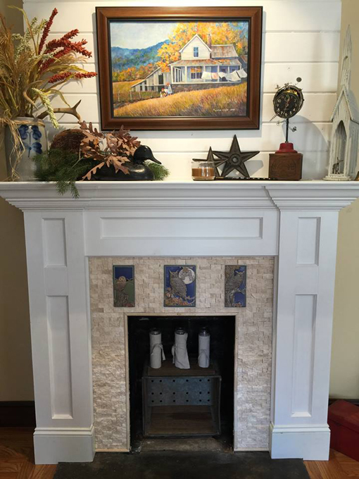 sears electric fire place