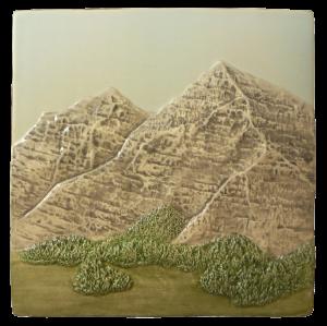 """N 61 - Mountain Scene B 6""""x6"""""""