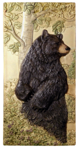 """B 89 - Bear Pause 6""""x12"""""""