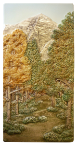 "B 80 - Mountain Path 6""x12"""