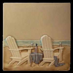 """SC 15 - Life's a Beach 6""""x6"""""""