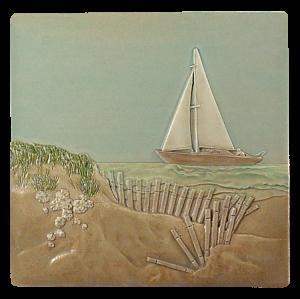 """SC 24 - Sailing Away 6""""x6"""""""